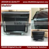 MN-1601 Latest Design Hotel Furniture Stainless Steel Food Serving Trolley Food Service Cart