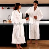 Super soft men and woman unisex white coral fleece bathrobe                                                                         Quality Choice