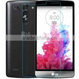 Alibaba china For LG G3 D855 tempered glass screen protector 2.5D 0.26mm 9H