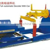 10 Hydraulic Full automatic Decoiler with Car
