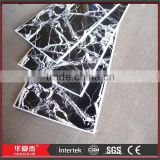 Hot Stamping Pvc Plastic Wall Cladding to Decorate Home Plans