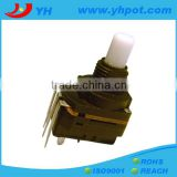 jiangsu 17mm high power rotary 5k ohm linear potentiometer with 5 pin