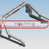 "3""stainless steel Roll Bar with light for Toyota Hilux Vigo"