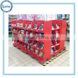 Holiday supermarket office supplies promotion corrugated cardboard retail pallet display