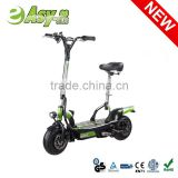 2015 Easy-go newest 500W/1000W 2 wheel electric scooter hot on sale with CE/RoHS certificate