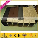 Wood Color Anodizing Polishing Aluminium Extrusion for sliding wardrobe door all types of 6063 anodized dies aluminium extrusion