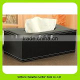 Business PU leather car tissue holder 16004