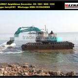 Chinese Lowest Price , Floating Track Undercarriage for KOBELCO Amphibious Excavator , Model: MAX200PU-S