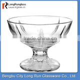 LongRun top sale typical and classical dinnerware red wine drinking glass cup ice cream glass cup