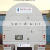 Liquid ethylene transport tanks