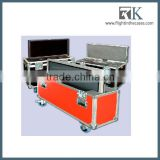 Hot selling!cheap flight cases for lcd plasma tv stand with wheel support custom-made flight case with top quality made in china