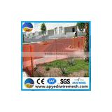 HOT !!plastic security warning mesh an use in transportation, the road building