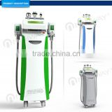 CE / FDA approved safety confortable treatment 5 cryo handles shaper body slimming vibration machine