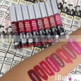 Newest 8 colors Lip Gloss Waterproof long lasting lipstick of lips care
