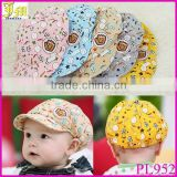 New Arrival Summer Newborn Baby Boys Girls Cotton Baseball Cap Summer Sun Hats Top 3-24month
