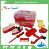 2016 new type top selling equestrian products horse grooming sets