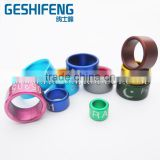 Top selling racing pigeon bird rings with good material aluminium