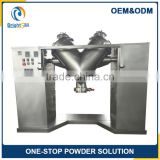 cosmetic v shape powder mixer dry chemical powder mixing machine chemical mixing machine