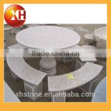 Garden 8 seater marble dining table for outdoor furniture
