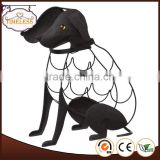 New dog design metal wine rack