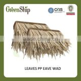 Outdoor Decorative roof from GreenShip/man-made straw mat/weather resistant/ eco-friendly