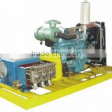 Chemical cleaning pump ultra high pressure water blaster,Diesel ultra high pressure washer
