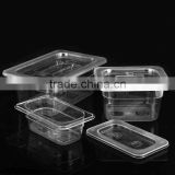 Good quality Unbreakable polycarbonate gn pan plastic full size Gastronorm