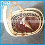 top quality rattan basket gift handmade in vietnam wholesale produce baskets with good quality