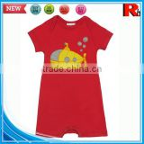 China alibaba import short sleeve cotton wholesale used funny babies clothes