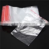100pcs/lot Jewelry Ziplock Zip Zipped Lock Reclosable Plastic Poly Clear Bags Vacuum Bag