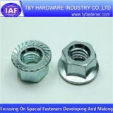 Hex Nuts with Flange ,Din 6923 ,Class 6 /8/10 ,Manufacture