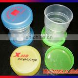 2015 newest item eco-friendly and cheapest fodable water cups