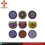 Wholesale Vintage Large Size Banjara Beads Gypsy Medallions Beaded Round Shape Decorative Patches