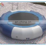 Best quality inflatable water trampoline float,inflatable floating water trampoline,inflatable water game