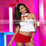 Hot Girls Seduction Women Sexy Lady Lingerie 2 Sexy-lingerie Opaque Christmas Costume Fashion LOVELY SMART BUNNY COSTUMES