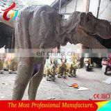 Adult robotic lifelike costume dinosaur