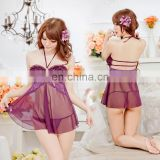 China Supplier Hot Sale Lovely Girl Modal Women Famale Mature Best Looking Purple Erotic Sexy Underwear