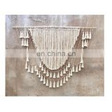 Large Wall Macrame, tassels wall hanging, Large macrame wall hanging, macrame headboard, Bohomian home decor, boho wall art, Wed