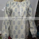 Online shop_Hand block printed Indian cotton Tunics/Blouse_new designer Indian caftan_sell wholesale