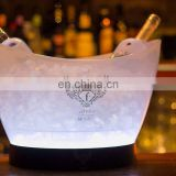 Acrylic Cutomized 12L Led Lighted Ice Bucket