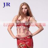 Belly dance beaded tassel bra YD-030#