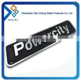 Cheap car emblems and letters