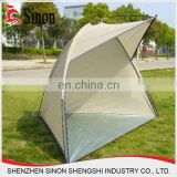 family outdoor camping tent beach shade tent folding sun shelter 4 person fishing camping tent