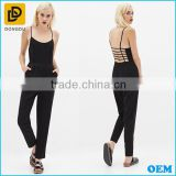 Fashion Sexy Backless Design Jumpsuit For Women 2016