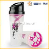 700ml Bpa Free Protein Shaker Bottle Plastic Food Grade Protein Shaker For Promotional                                                                         Quality Choice