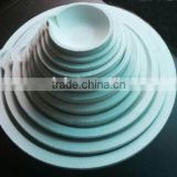 "3.5"" 320 dwt 500 Grams Ceramic Silica Crucible Casting Dish Melting Gold Silver"