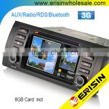 "5er E39 X5 E53 2002 7"" Touch Screen Car DVD Player scooters motorcycles Erisin ES7153B"