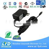 LED driver 5v 2a 3a power adapter for DVD with CE UL KC ROHS PSE