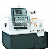 5-axis (X,Y,Z,C,G) swiss type cnc lathe and cnc milling machine for watch 20F type