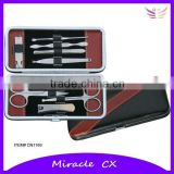 Personal care item manicure set leather